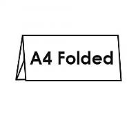 A4 Folded Flyers