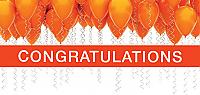 CONG09 - Orange Balloons